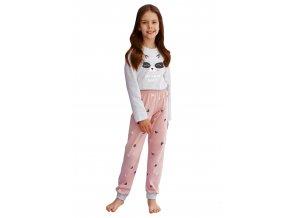 Dívčí pyžamo Suzan s obrázkem a nápisem Taro