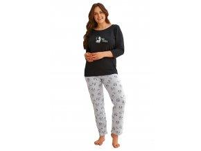 Dámské pyžamo nadměrné velikosti Vesta Taro
