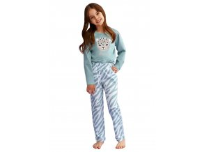 Dívčí pyžamo Carla s obrázkem kočky Taro