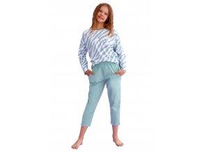 Dívčí vzorované pyžamo Carla Taro