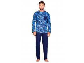 Pánské vzorované pyžamo 596 Regina