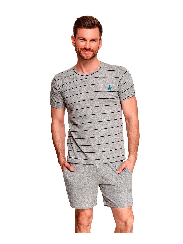 Pánske vzorované pyžamo Bruno Taro