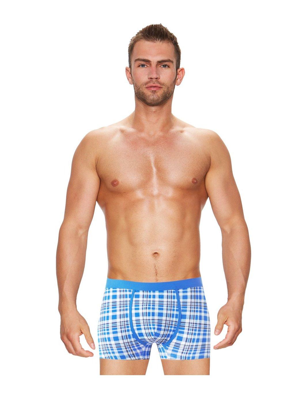V balení 3 ks -Pánské boxerky s dlhšou nohavičkou U514 Intime RISVEGLIA