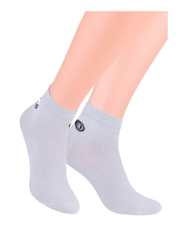 Chlapčenské členkové ponožky šport jednofarebné 046/100 STEVEN