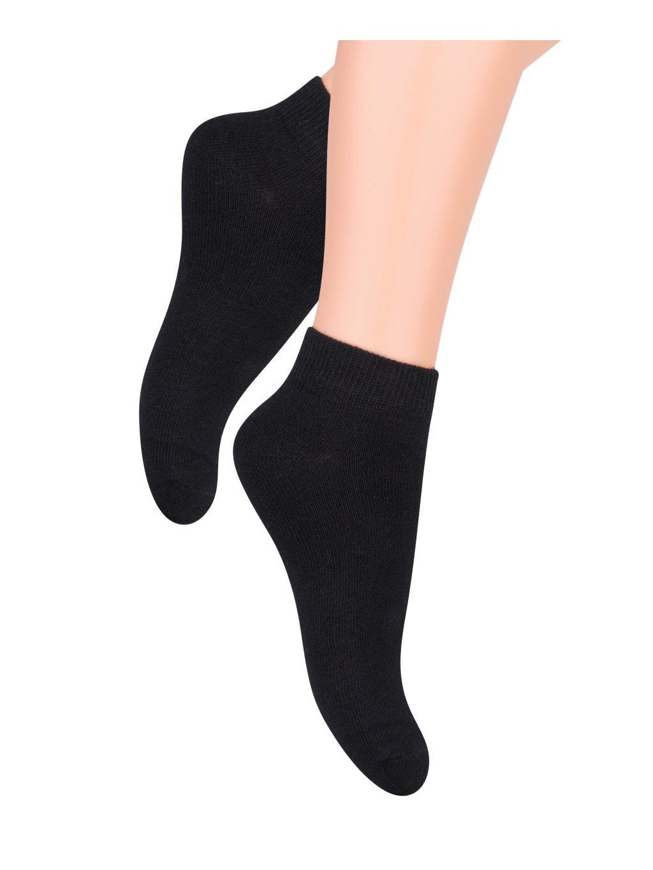 Chlapčenské členkové ponožky jednofarebné 004 Steven