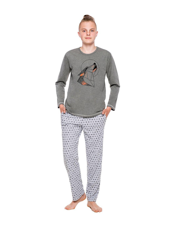 Chlapčenské pyžamo Czarek s obrázkom vlka Taro