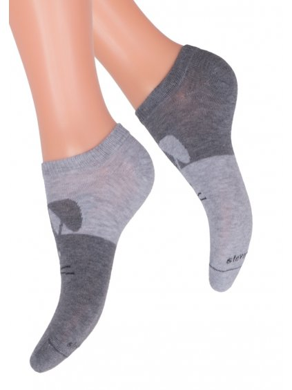 Dievčenské členkové ponožky 004/22 STEVEN