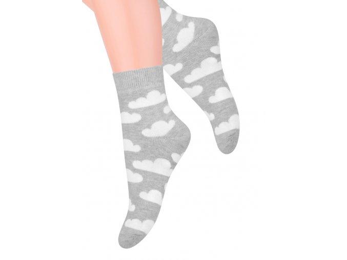 Dievčenské klasické ponožky STEVEN