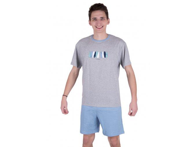 Pánske pyžamo s krátkym rukávom 562 Regina