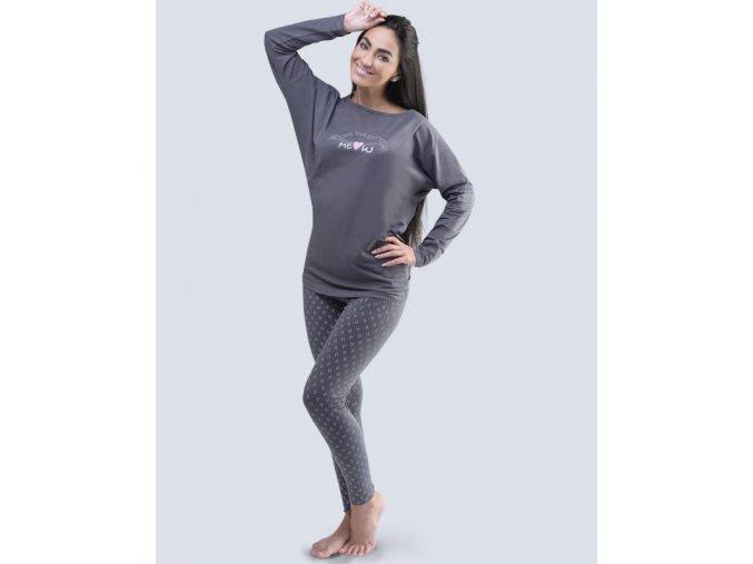 Dámske pyžamo dlhé 19041P
