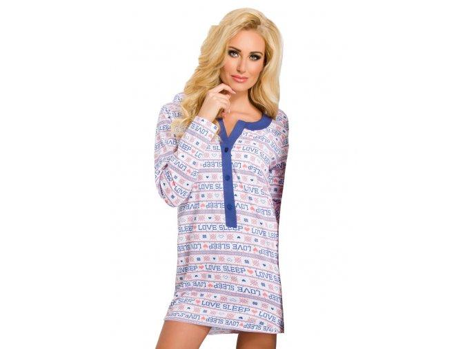 Dámska nočná košeľa Marcela s nápisom Love sleep Taro