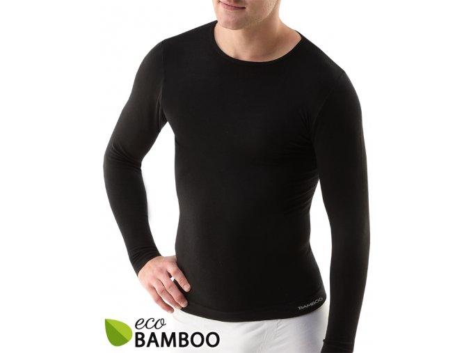 Bambusové tričko pánske, dlhý rukáv 58007P