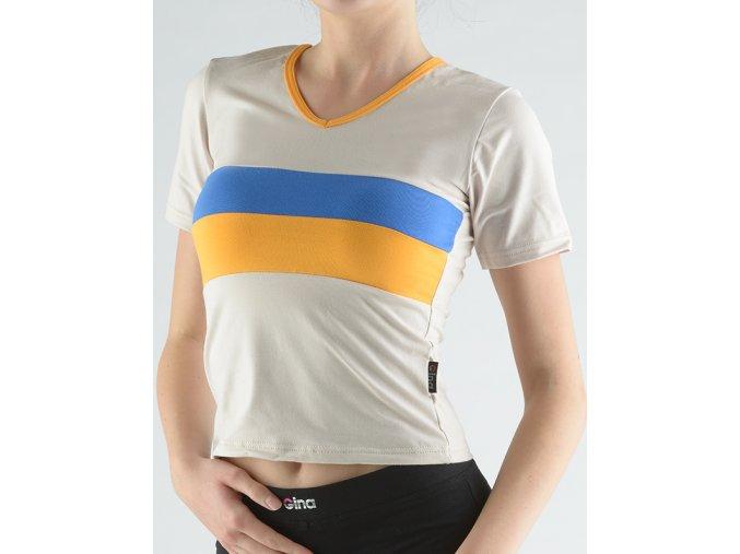 Tričko pruhované 98009P