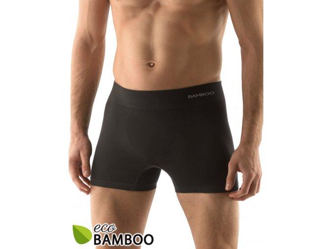 Bambusové pánske boxerky dlhšiu nohavička 54005P