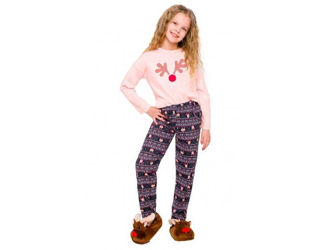 Dievčenské pyžamo Sofia s obrázkom soba Taro