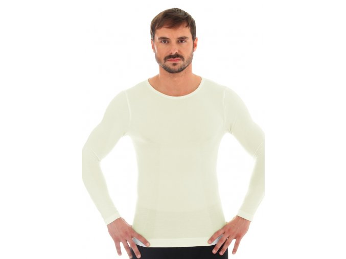 Pánske tričko Merino LS11600 BRUBECK