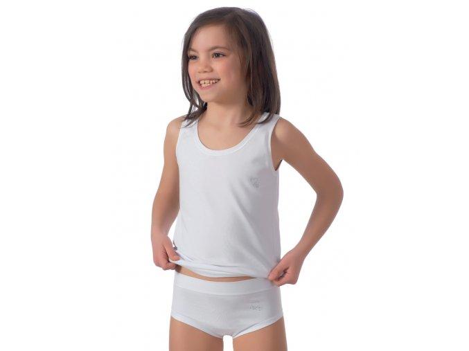 Dievčenské tielko na široké ramienka 091 Risveglia
