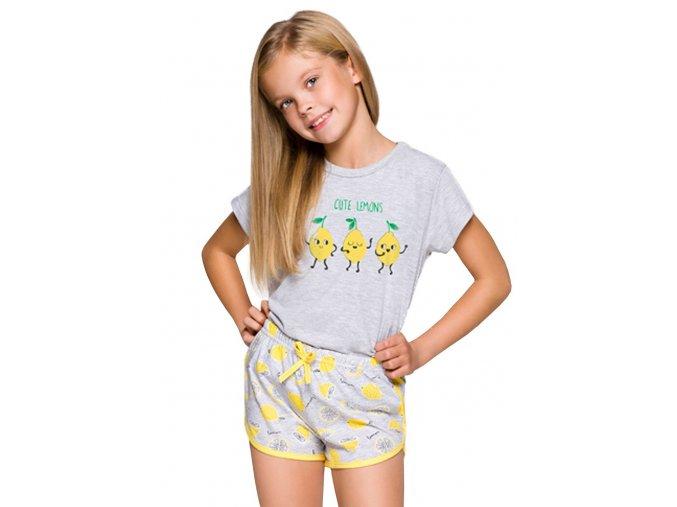 Dievčenské pyžamo Pia s kraťasy a obrázkom Taro