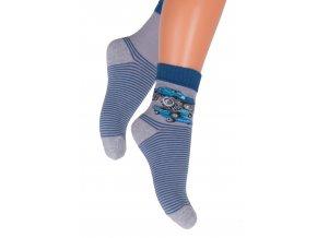 Chlapčenské klasické ponožky 014/25 Steven