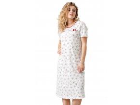 Dámska nočná košeľa Kimi so vzorom M-Max