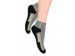 Chlapčenské členkové ponožky s nápisom Sport 004/14 Steven