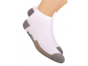 Chlapčenské členkové ponožky športové s nápisom Sport 054/60 STEVEN