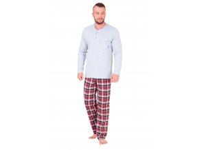 Pánske pyžamo Barnaba so vzorom farebné kocky M-Max