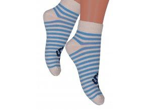Chlapčenské členkové ponožky 004/147 STEVEN