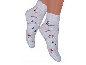 Chlapčenské členkové ponožky 004/171 STEVEN
