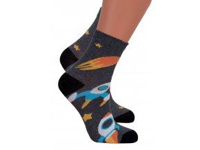 Chlapčenské klasické ponožky 014/285 Steven