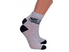 Chlapčenské klasické ponožky 014/301 Steven