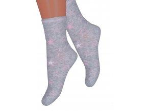 Dievčenské klasické ponožky 014/378 STEVEN