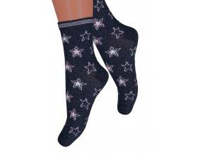 Dievčenské klasické ponožky 014/379 STEVEN