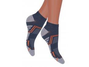 Chlapčenské členkové ponožky 101 / ch067 STEVEN