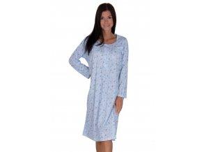 Dámska jednofarebná nočná košeľa 075 Regina