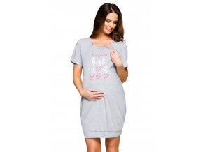 Dámska materská košeľa s potlačou 173 Regina