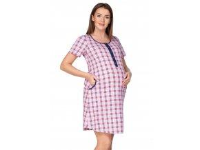 Dámska vzorovaná materská košeľa 174 Regina