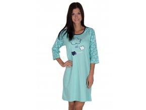 Dámska nočná košeľa 372 so vzorom Regina