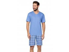 Pánske pyžamo s krátkym rukávom 581 Regina