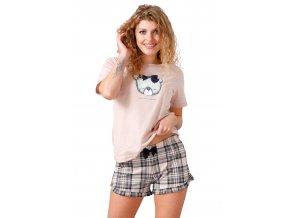 Dámske pyžamo Tita s obrázkom 1012 M-Max