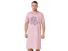 Pánska nočná košeľa Lew s obrázkom leva M-Max