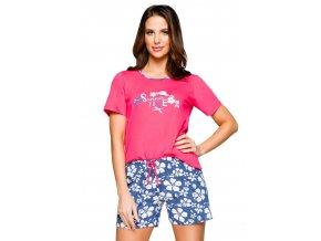 Dámske pyžamo s nápisom Summer time 916 Regina