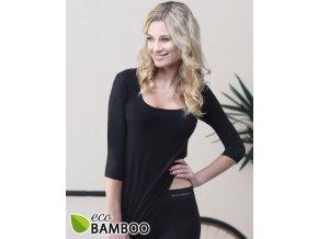 Bambusové tričko 3/4 rukáv 08023P