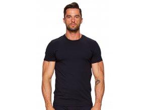 Pánske jednofarebné tričko s krátkym rukávom 01 Fabio