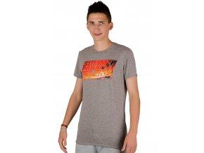 Pánske jednofarebné tričko s nápisom Summer paradise island