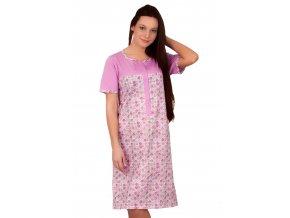 Dámska nočná košeľa s farebným vzorom Taro