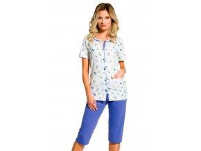 Dámske pyžamo Fabia so vzorom drobných kvetov Taro