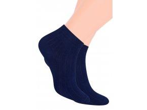 Chlapčenské členkové ponožky športové jednofarebné 054 STEVEN