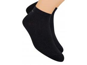 Chlapčenské členkové ponožky športové jednofarebné 054/101 STEVEN