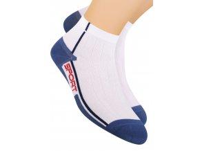 Chlapčenské členkové ponožky športové s nápisom Sport 054/104 STEVEN